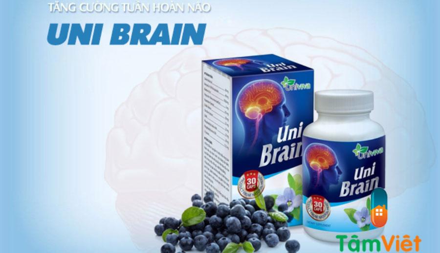 Uni Brain, hỗ trợ điều trị xơ vữa động mạch, nghẽn mạch, tai biến mạch máu não!