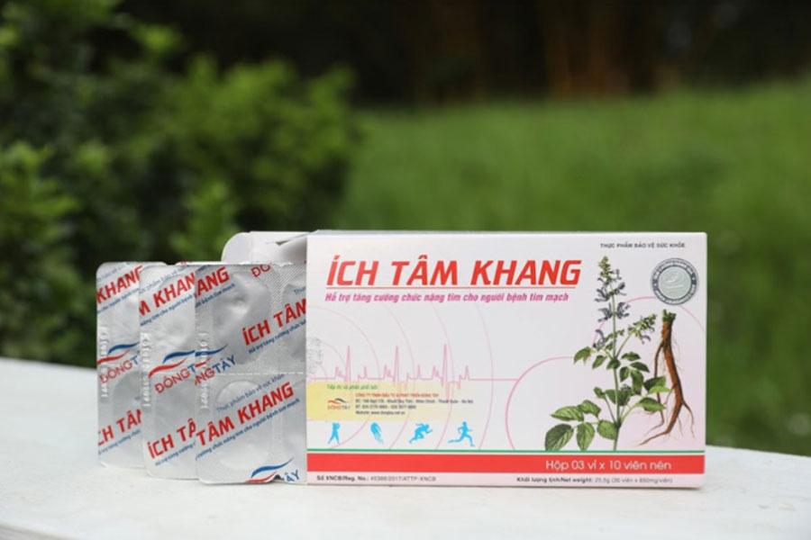 Ích Tâm Khang, hỗ trợ chữa trị bệnh Hở Van Tim có tốt không?